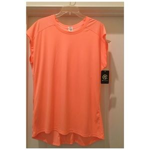 Ladies Coral Duo Dry Top by Champion. Size XL.